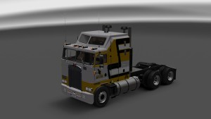 Sauthern Miss Skin for Kenworth K100