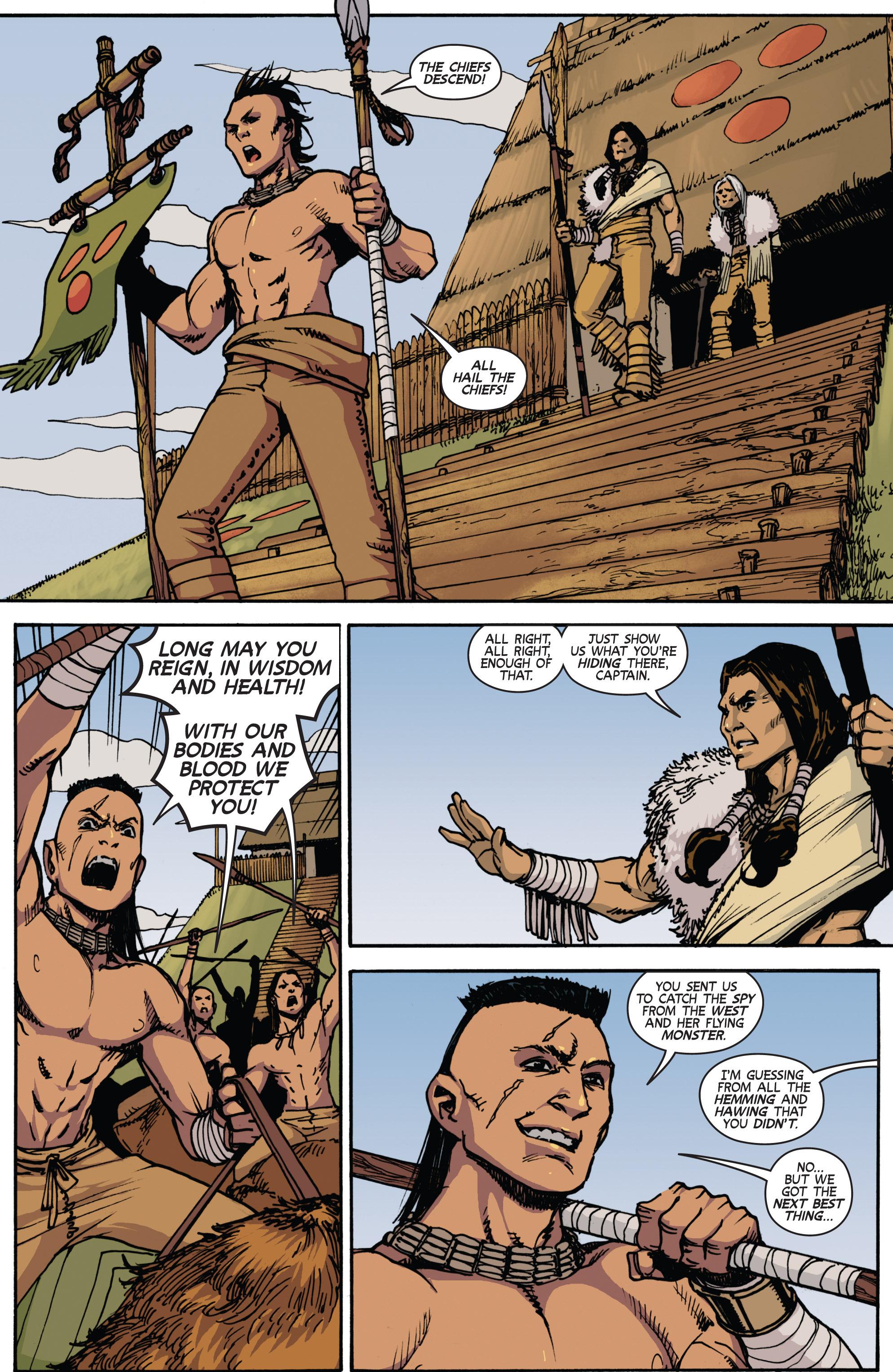 Read online Turok: Dinosaur Hunter (2014) comic -  Issue # _TPB 2 - 26
