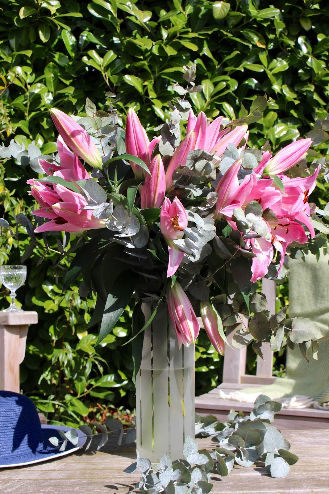 OK Bouquet Pink Robina Lily Bouquet