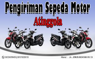 EKSPEDISI PENGIRIAN MOTOR SURABAYA ATINGGOLA