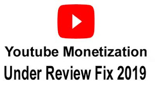 Youtube Monetization Under Review Fix 2019 / 2020