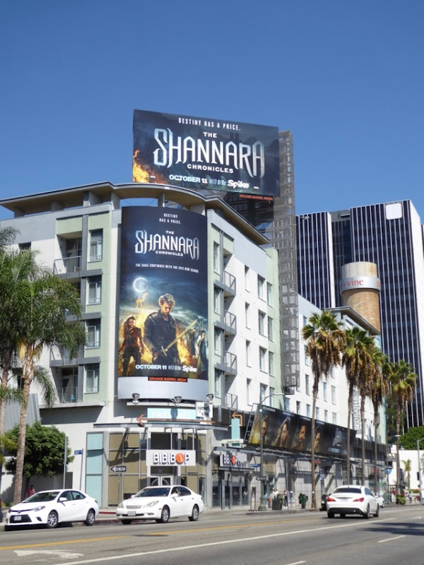 Shannara Chronicles season 2 billboards