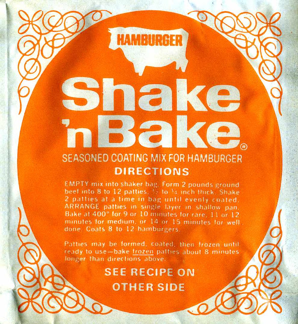 Shake'nBake orange package 1970s