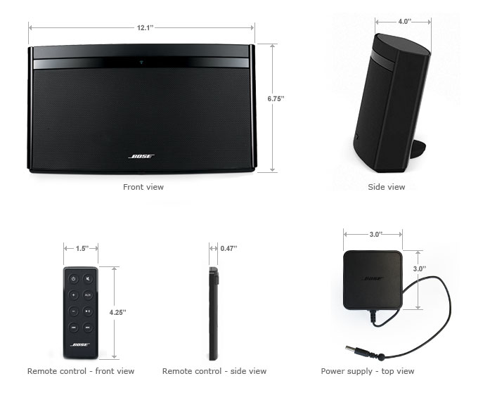 REVIEW: Bose SoundLink Air Wireless Speaker   The Test Pit