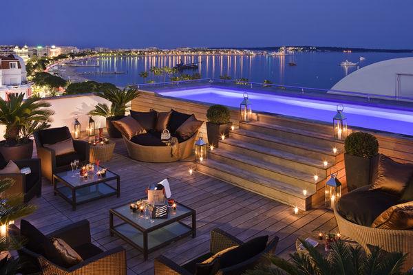 Hotel romântico em Cannes