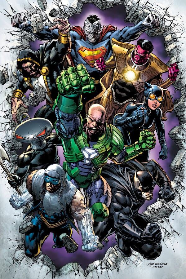 lex luthor forever evil team