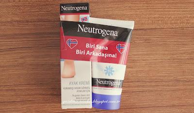 Neutrogena el ve ayak kremi