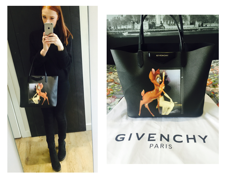70367212df4 Givenchy Bambi Antigona tote bag (click for larger / see below)