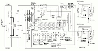 Electro help: MICROWAVE OVEN CIRCUIT DIAGRAM SHARP Model R