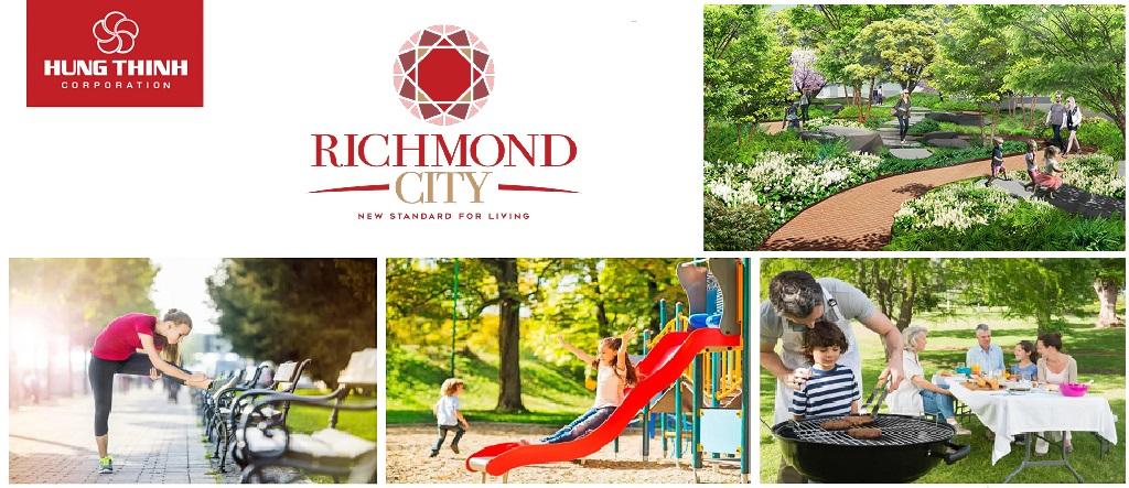 Tiện ích căn hộ Richmond City