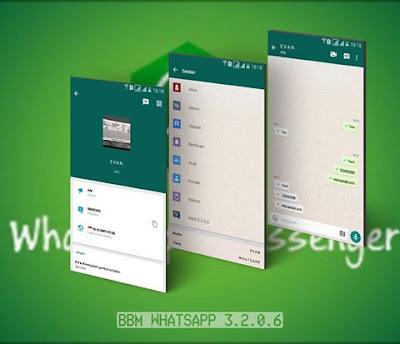 Download BBM MOD Whatsapp Versi Terbaru v3.2.0.6 APK