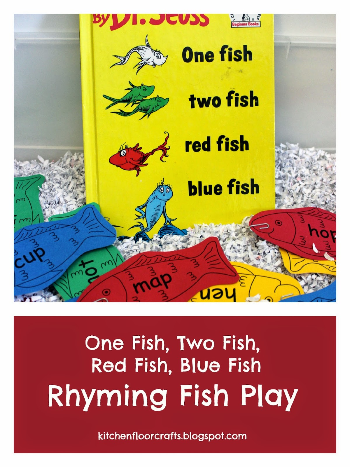 Kitchen Floor Crafts Rhyming Fish Play With Dr Seuss
