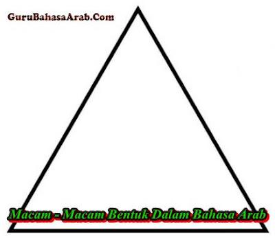 Macam - Macam Bentuk Dalam Bahasa Arab