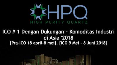 HPQ - SAATNYA BERINVESTASI DALAM PROYEK NYATA KE SEBUAH INDUSTRI BERTEKNOLOGI TINGGI DAN RAMAH LINGKUNGAN