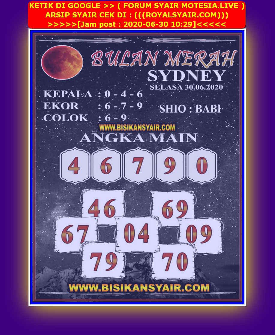 Kode syair Sydney Selasa 30 Juni 2020 87