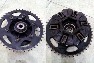 rantai motor adalah salah satu komponen yang ada pada sebuah kendaraan bermotor roda dua  Penyebab Rantai Motor Kenceng Kendur Dan Mengatasinya