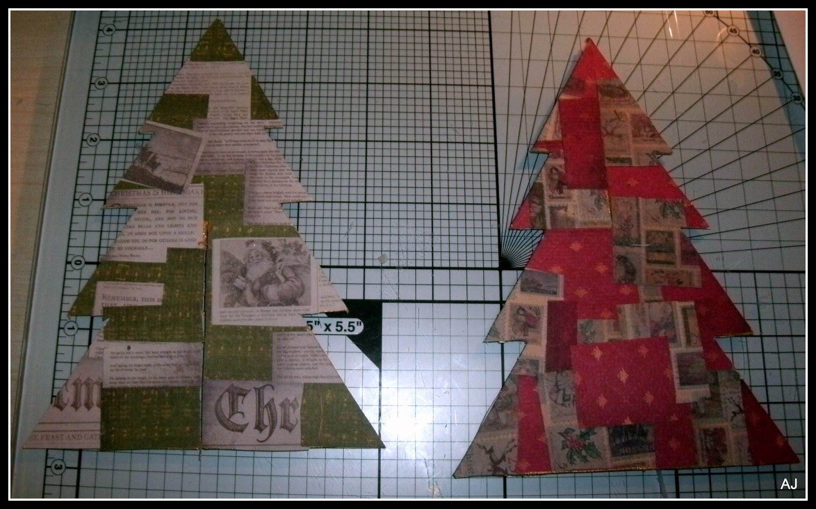 The Male Card Maker: Christmas Tree Project & Tutorial