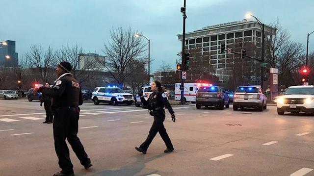 Mercy Hospital Shooting: 4 dead, including gunman, Chicago Officer Samuel Jimenez