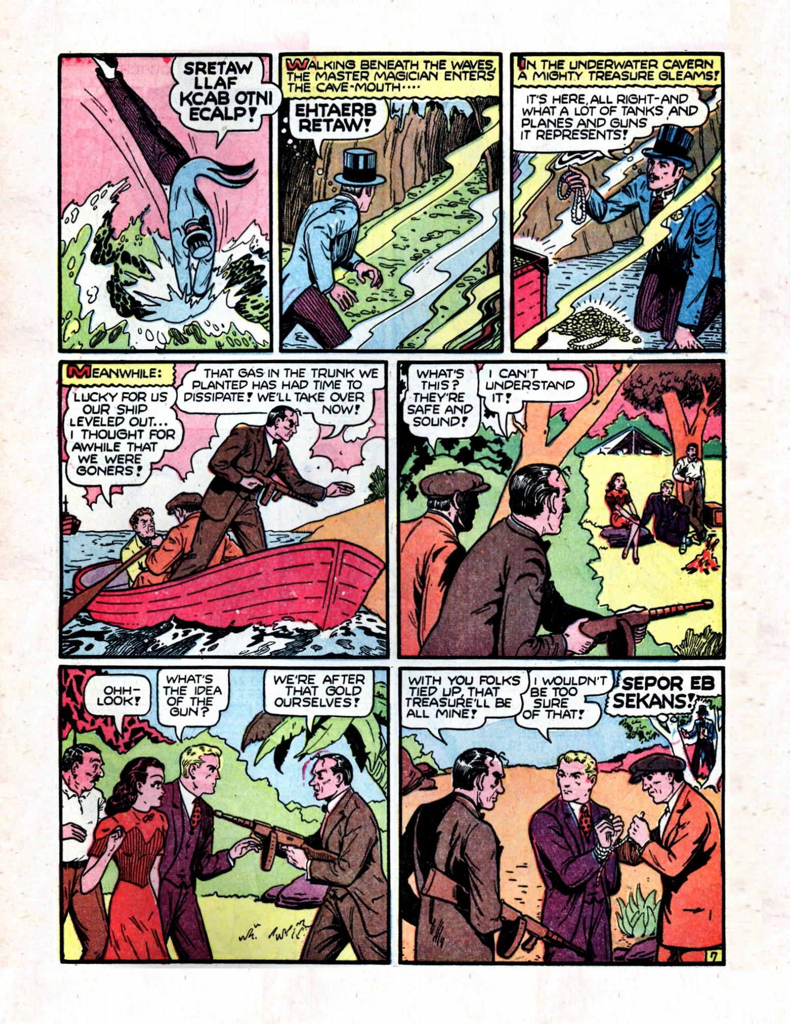 Read online Action Comics (1938) comic -  Issue #57 - 63
