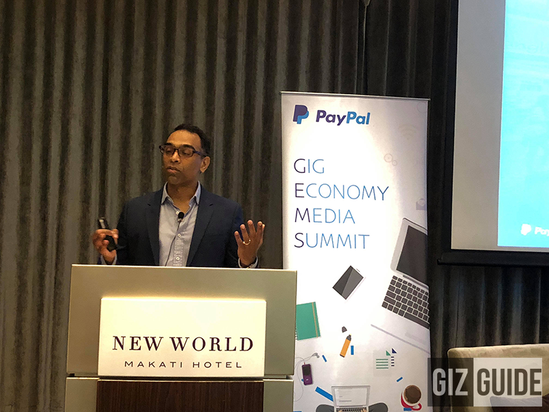 Nagesh Devata, General Manager, for PayPal Southeast Asia Cross-Border Trade