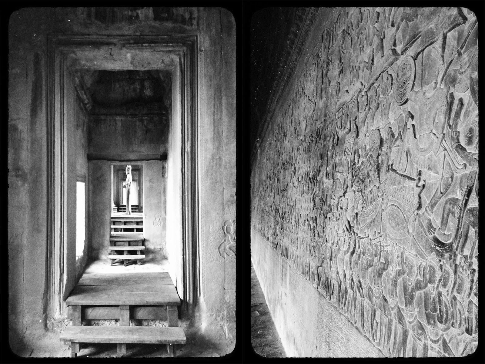 Bas-reliefs, Angkor Wat