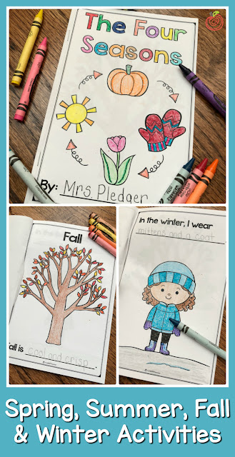 The Four Seasons activities and ideas for your classroom