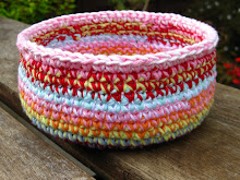 Crochet bowl tutorial