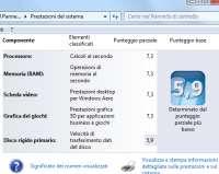 Indice prestazioni Windows
