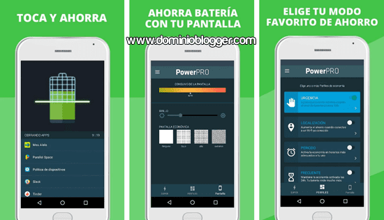 App PowerPRO para Android