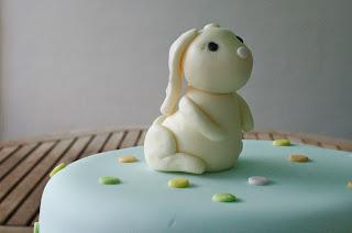 Tarta bebe conejo
