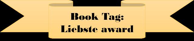 Book-Tag: Liebster Award. Cuarta parte
