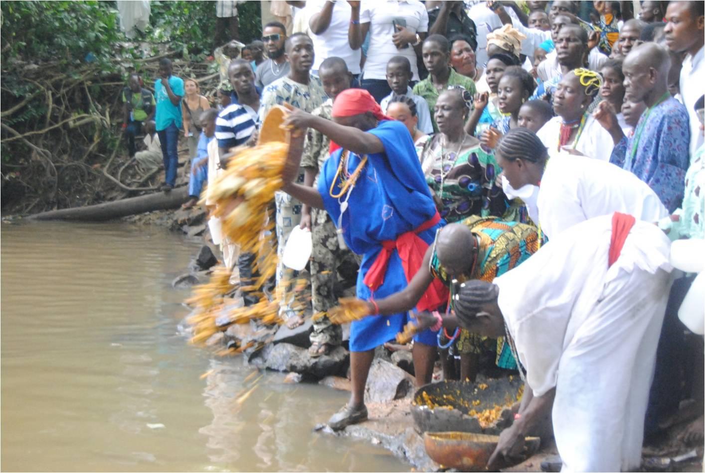 Nigerian art at Oyasaf: Colours of Osun-Osogbo Festival