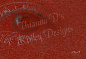 Red Eye by Thianna D's Kinky Designs. Copyright Thianna D