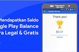 Membeli Konten di Google Play Store dengan Dolar Gratis dari Google Opinion Reward