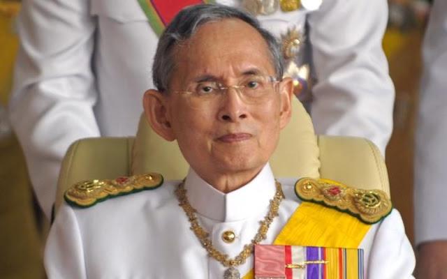 Terkini : Raja Thailand Disahkan Mangkat Selepas 70 Tahun Memerintah