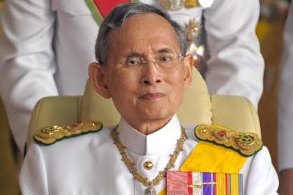 Berkuasa 70 Tahun,  Akhirnya Raja Thailand Meninggal Dunia