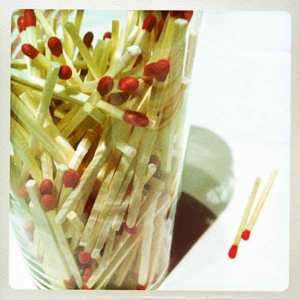 How to Make Decorative DIY Stick Matches