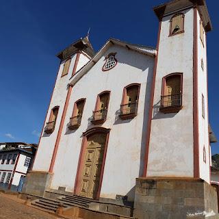 Centro Histórico, Serro, Minas Gerais, Caminho dos Diamantes, Estrada Real, Igreja de Nossa Senhora da Conceição