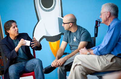 Under the Dome with Geoffrey Moore at ServiceRocket HQ with Robert Castaneda