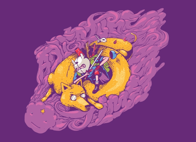 Super Punch: Threadless's Adventure Time t-shirt now available
