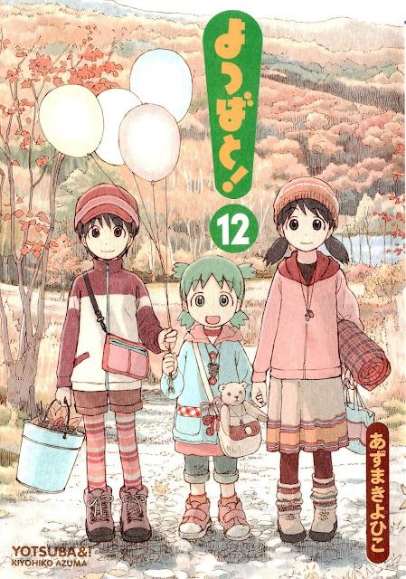 Yotsuba&! Manga, 12. tom