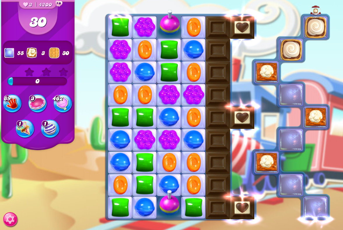 Candy Crush Saga level 4200