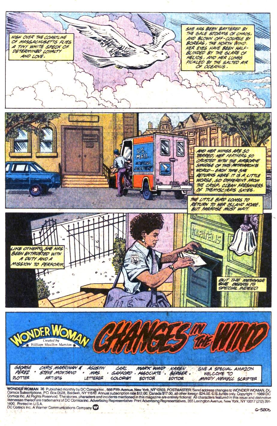 Read online Wonder Woman (1987) comic -  Issue #36 - 2