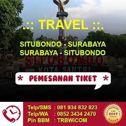 Travel Situbondo - Surabaya (PP)