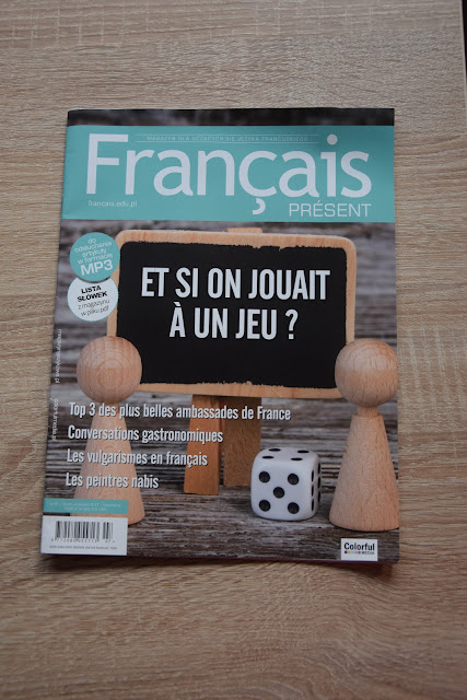 """Français Présent 41/2017"" - okładka czasopisma - Francuski przy kawie"