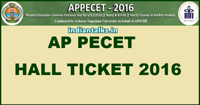 AP-PECET-2016-Hall-Ticket-Admit-Card