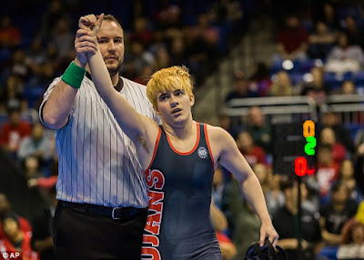 Transgender boy wins Texas girl's state wrestling title amid controversy