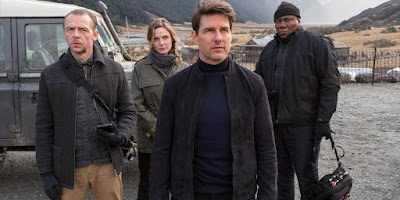 Mission Impossible Fallout 2018 Tom Cruise Simon Pegg Rebecca Ferguson Ving Rhames