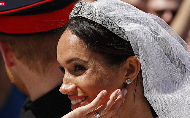 Wedding of Prince Harry and Meghan Markle.