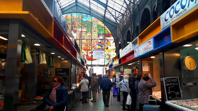 Inside Atarazanas Market -Malaga Trips